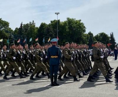 Парад в честь 75-летия Победы в Великой Отечественной войне.