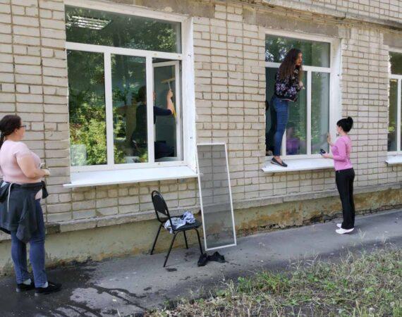 Сегодня в рамках проекта «Все на субботник» прошла уборка прилегающей территории Агентства