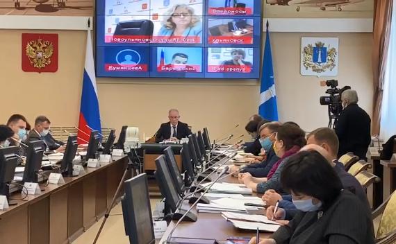 Губернатор Сергей Морозов переводит все заседания в дистанционный режим