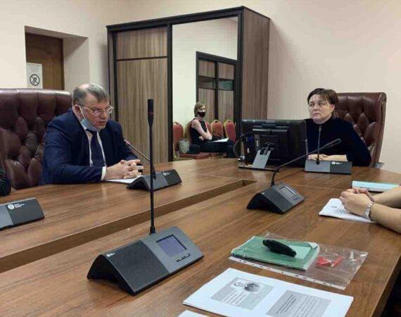 Прошел семинар по рассмотрению недостатков выявленных  Счетной палатой Ульяновской области