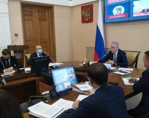 Сегодня состоялось заседание Штаба по комплексному развитию региона.