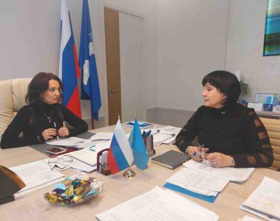 Состоялась встреча с Первым заместителем Председателя Правительства Ульяновской области