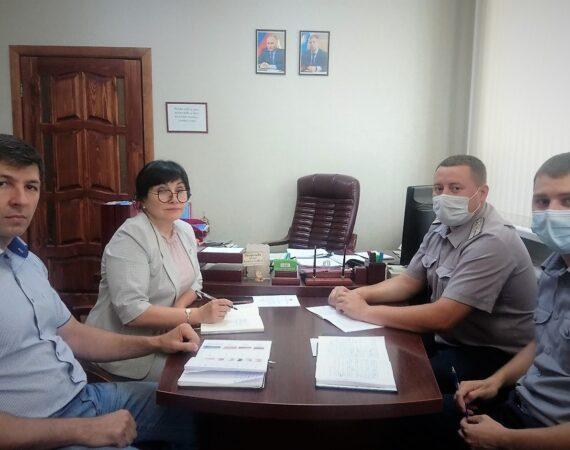 Рабочая встреча с представителями УФСИН