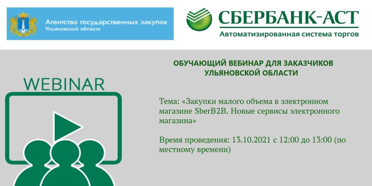 Вебинар для заказчиков Ульяновской области